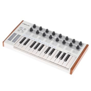 Przeno艣na klawiatura steruj膮ca MIDI bia艂a